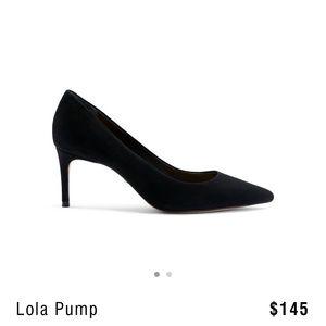 """Lola"" - Black Schutz Pumps"